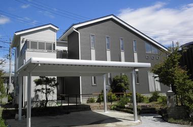 山形市T様 外壁塗装、屋根塗装、カーポート設置