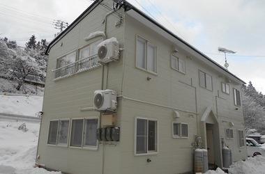 西津軽郡鰺ヶ沢町S様アパートA 外壁塗装、屋根塗装
