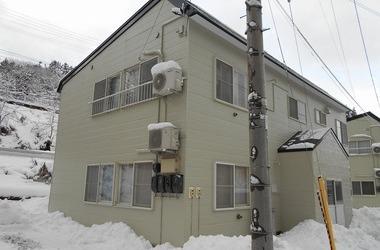 西津軽郡鰺ヶ沢町S様アパートB 外壁塗装、屋根塗装