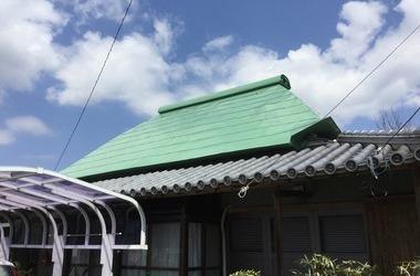 阿波市K様 屋根塗装