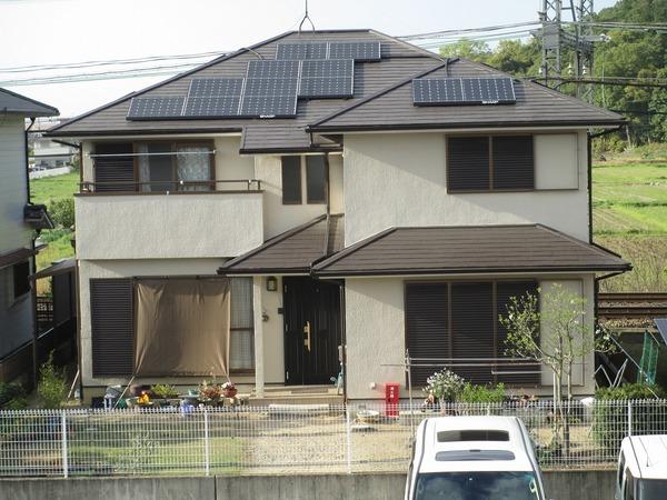 橿原市K様 外壁塗装、ソーラーパネル設置のサムネイル