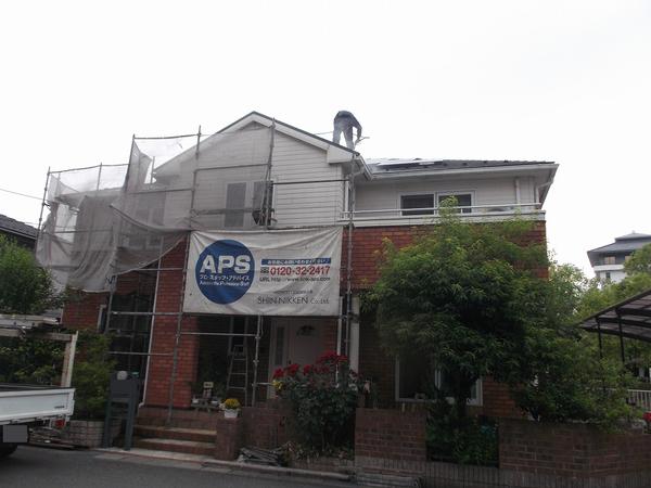 高槻市T様 外壁塗装、屋根塗装のサムネイル