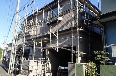 新座市K様 外壁塗装、屋根塗装