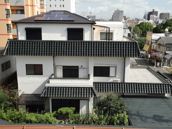 堺市I様 外壁塗装、屋根塗装、ソーラーパネル設置のサムネイル