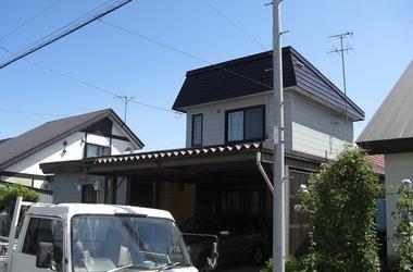 旭川市S様 屋根塗装