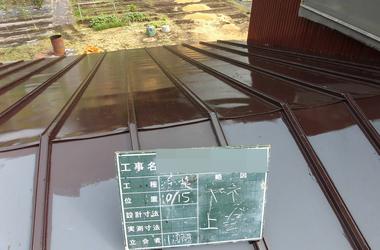 花巻市K様 屋根塗装