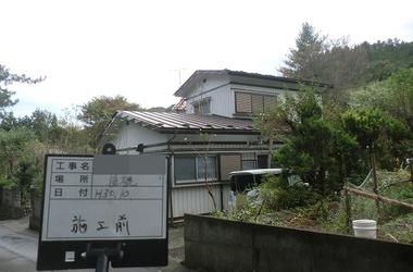 釜石市I様 屋根塗装