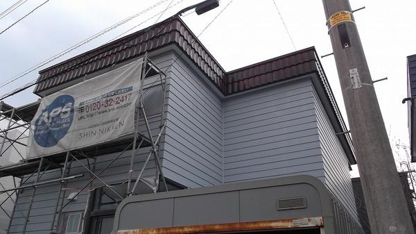 江別市A様 外壁塗装のサムネイル
