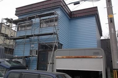 江別市A様 外壁塗装