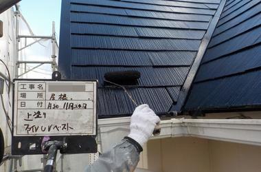 有田市E様 屋根塗装