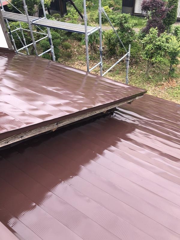 天童市S様 屋根塗装のサムネイル