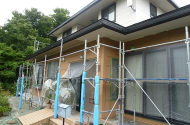 寒河江市O様 外壁塗装、屋根塗装