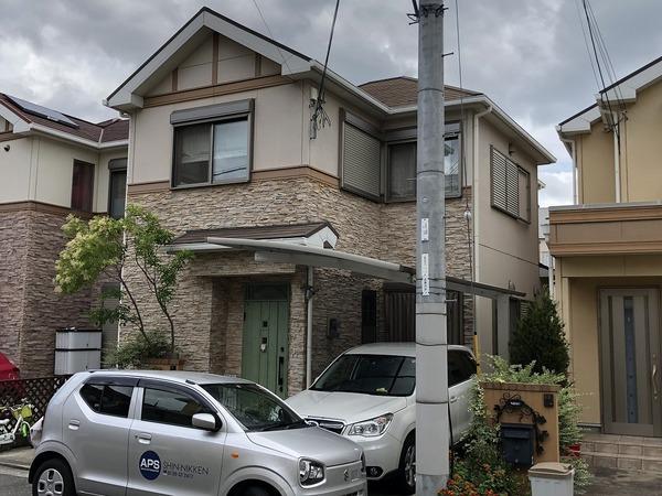 堺市南区I様 外壁塗装のサムネイル
