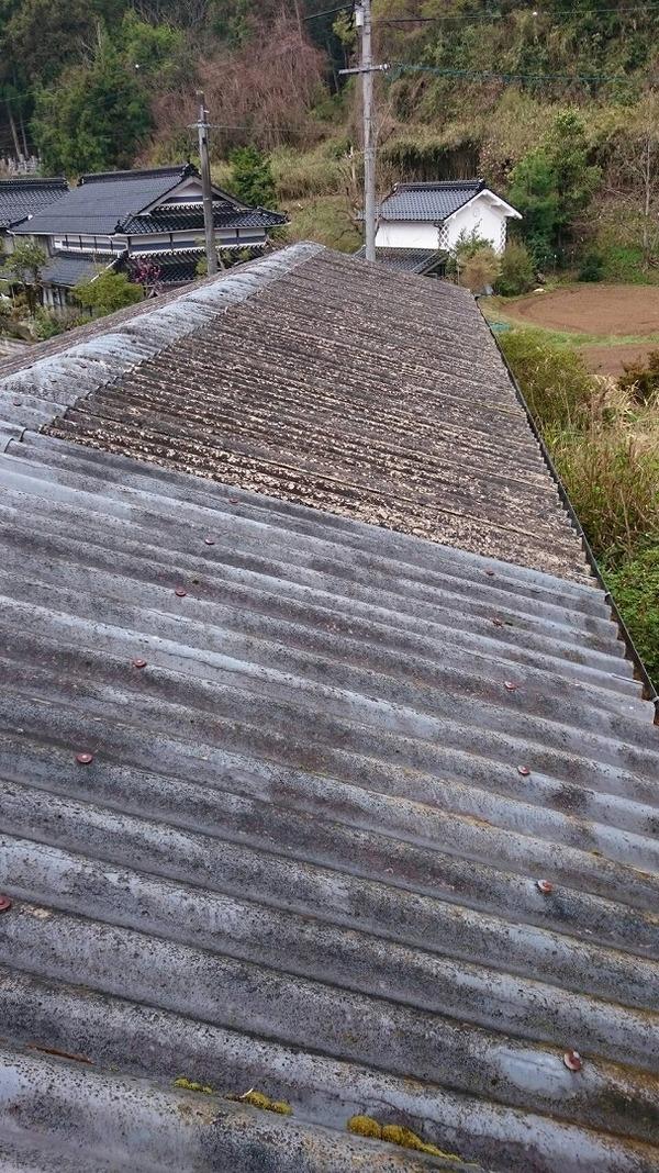 美作市O様 屋根塗装のサムネイル