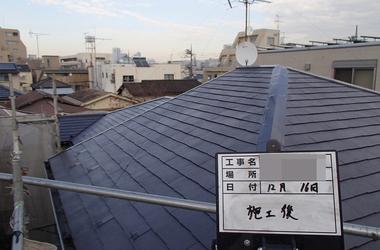東京都世田谷区S様 外壁塗装、屋根塗装