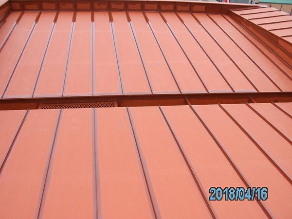 上川郡剣淵町I様 屋根塗装のサムネイル