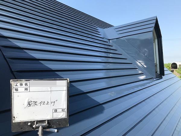 千歳市T様 屋根塗装のサムネイル