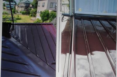 白山市K様 屋根塗装