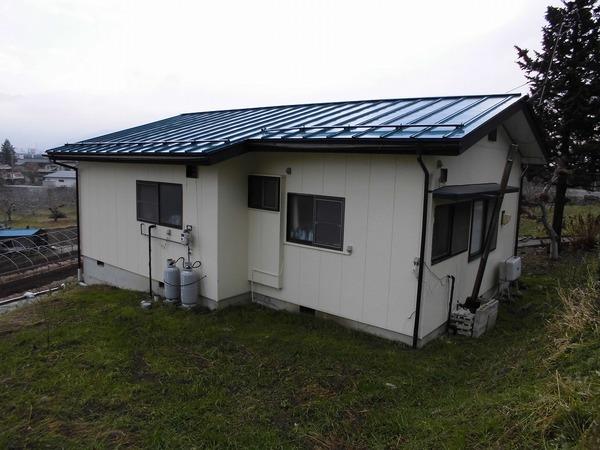 中野市H様 屋根塗装のサムネイル