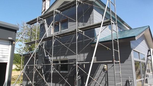 磯谷郡蘭越町M様 外壁塗装、屋根塗装のサムネイル