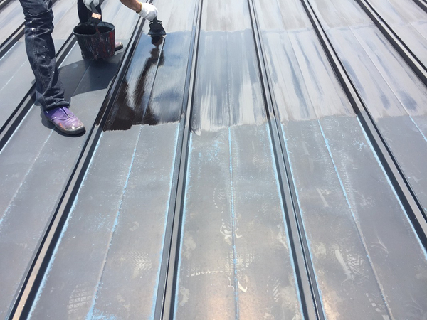 河東郡音更町S 屋根塗装のサムネイル