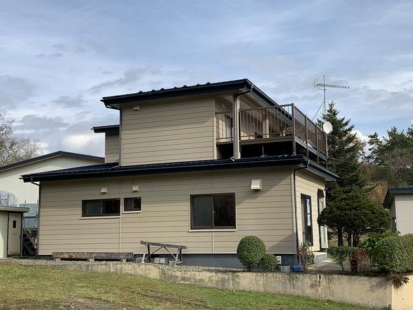 様似郡様似町S様 屋根塗装のサムネイル